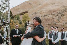 Intimate Backyard Idaho Wedding