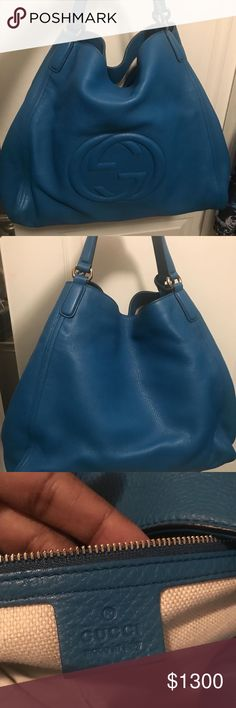 AUTHENTIC GUCCI BAG AUTHENTIC • LIKE NEW • Shoulder Hobo Bag • Leather • SUPER CLEAN INSIDE & OUTSIDE • No Stains • Dust Bag • PERFECT EVERYDAY HANDBAG FOR ANY FASHION LOVER ! Gucci Bags Shoulder Bags