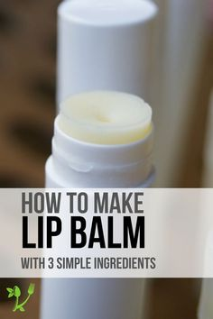 Learn how to make a simple lip balm with only 3 natural ingredients: shea butter, beeswax and coconut oil! The best part is it holds up well during the summer months yet goes on smoothly at winter. Make a bundle with your favorite essential oils for a lovely DIY gift.
