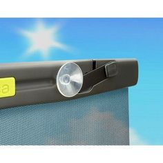 Brica Better Fit UV-Guardian Roller Car Window Shade, Grey