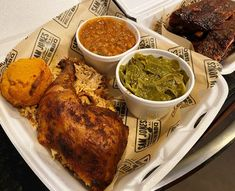 Sam Jones BBQ, Raleigh - The second location for the well-lauded Jones barbeque family! Enjoy excellent Eastern NC whole-hog barbeque along with fantastic Southern sides. Chicken Wings, Bbq, Triangle, Southern, Food And Drink, Menu, Restaurant, Dining, Barbecue