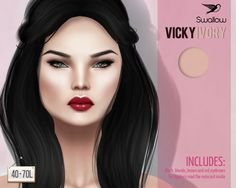 ^^Swallow^^New Skin VICKY IVORY GLOSSY RED for TDR | Flickr - Photo Sharing!