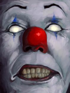 "IT - Pennywise ""We all float down here. Scary Movie Characters, Scary Movies, Horror Movies, Horror Books, Horror Film, Le Clown, Creepy Clown, Frankenstein, Creepy Monster"