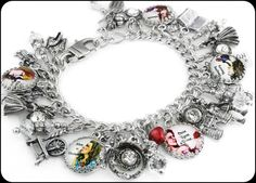 Once Upon a Time, Silver Charm Bracelet