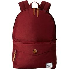 29bfb1596ebe72 Sydney (Windsor Wine) Backpack Bags ($45) ❤ liked on Polyvore featuring  bags, backpacks, burgundy, herschel supply co bag, red backpack, zip bags,  ...
