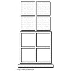 My Favorite Things WINDOW Die-Namics MFT631