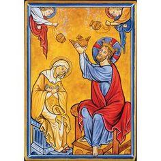 Cinquième Mystère Glorieux : « Le Couronnement de Marie ».