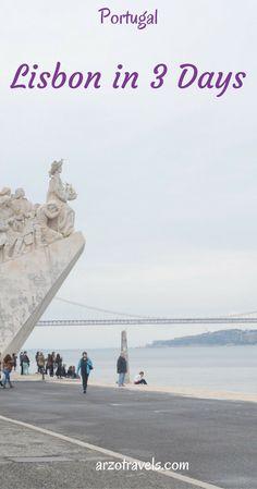Lisbon in 3 days, Portugal