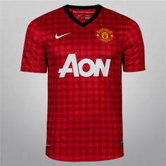 3832467e1 Nike 2012   2012 - Manchester United Home