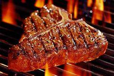 Best steak marinade c butter c lemon juice c ketchup 2 tbsp… Grilled T Bone Steak, Marinated Steak, T Bone Steak Marinade, Spicy Steak, Best Steak, How To Grill Steak, Steak Recipes, Cooking Recipes, Healthy Recipes