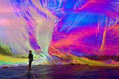"""Poetic Cosmos of the Breath"" by Tomas Saraceno."