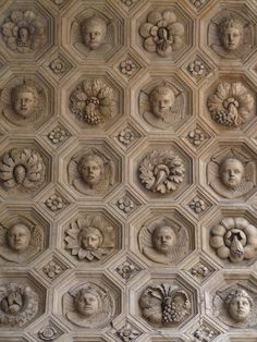 'Incredible detail--- not sure if it's a ceiling or wall, but either way delightful.'  JT (always in my own words)