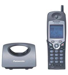 Panasonic Business Telephones KX-TD7896 BTS Cordless BLACK