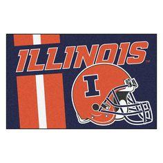 Illinois Fighting Illini NCAA Starter Floor Mat (20x30)