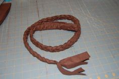Indiana Jones Whip Tutorial...just what i have been searching for! must make for Kyan!