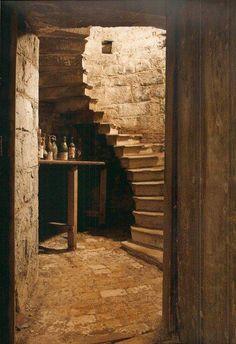 Living Room Wiyh Stairs