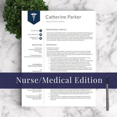 i love this registered nurse resume template when youre applying as a new - Nursing Resumes Templates