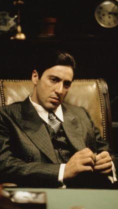 """Al Pacino: """"Michael Corleone"""" in """"The Godfather."""""""