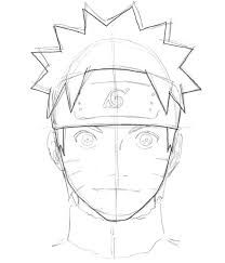 how to draw kushina uzumaki step by step