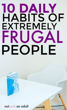 10 Daily Habits of Extremely Frugal People Save Money On Groceries, Ways To Save Money, Money Tips, Money Saving Tips, How To Make Money, Money Savers, Groceries Budget, Managing Money, Frugal Living Tips