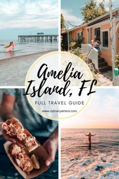 Travel Guide: Things to do inAmelia Island and Fernandina Beach, Florida // Where to Eat // Where to Stay // Things to Do Usa Travel Guide, Travel Usa, Travel Guides, Travel Tips, Beach Trip, Vacation Trips, Beach Travel, Dream Vacations, Fernandina Beach Florida