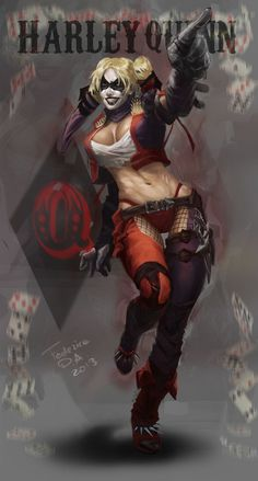 Dc Comics, Comics Girls, Image Comics, Marvel Dc, Comic Books Art, Comic Art, Bd Cool, Cyberpunk, Joker Und Harley Quinn