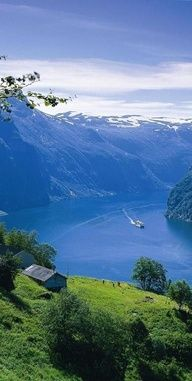 NORWAY: Geirangerfjord in Stranda. A photograph by Jocelyn Pantaleon Hidalgo Places Around The World, The Places Youll Go, Places To See, Around The Worlds, Wonderful Places, Beautiful Places, Beau Site, Fjord, Beautiful Landscapes