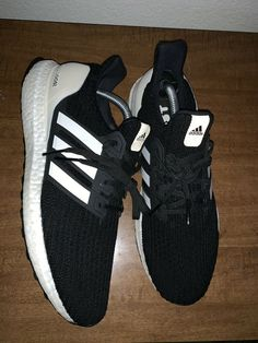 92bc281cb7829 Adidas Ultra Boost 4.0 Show Your Stripes Black Mens Size 9  fashion   clothing