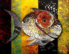Famous Abstract Art | ... Art of Jason Scarpace: fish paintings, abstract art, original fine art