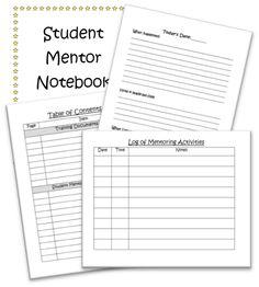The Inspired Counselor Blog: Student Mentor Program