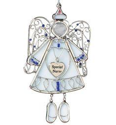 "Angel Nurse Ornament ""Special Nurse"" by Banberry Designs, http://www.amazon.com/dp/B004ODIQPA/ref=cm_sw_r_pi_dp_Vx9.rb08T6GSF"
