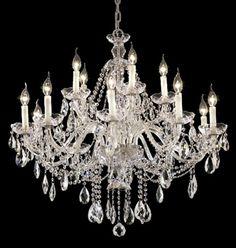 Show details for Elegant Lighting 7829G35C/RC Chandeliers Alexandria