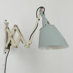 Trainspotters.co.uk - vintage midgard scissor wall light type 3