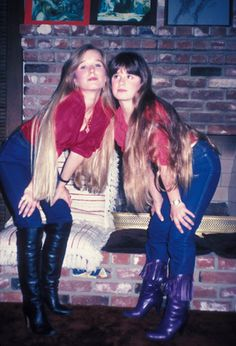kim richards young | kim and kyle richards young sisters portrait photo