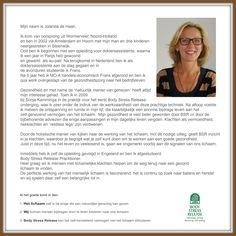 Practitioner uitgelicht! Jolanda de Haan onlangs afgestudeerd aan de BSR academie in Engeland verteld haar ervaring met Body Stress Release. Meer informatie over Body Stress Release: www.bodystressrelease.nl
