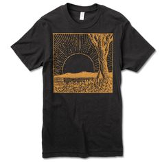 Image of Shine  T-shirt -Blk T-shirt
