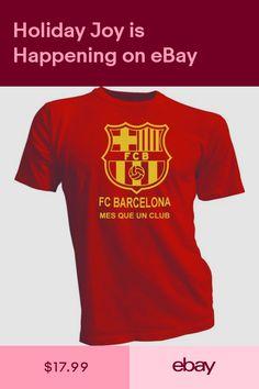 538508b9939 FC Barcelona España Spain Soccer Futbol T Shirt Camiseta - Mes que un club  red