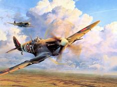 Aviation Art : Air Combat Paintings Collection - Art Air Combat : Air Combat Painting by Robert Taylor 16 Military Diorama, Military Art, Aviation Decor, Ww2 Aircraft, Military Aircraft, Fighter Aircraft, Aircraft Painting, Airplane Art, Car Painting