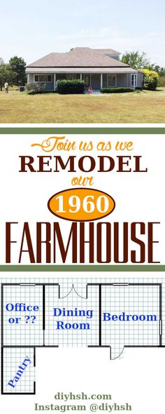 Our 1960 Farmhouse Remodel | DIY Home Sweet Home