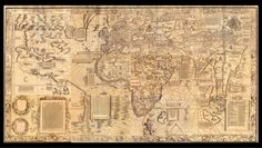 The Carta Marina, made in 1516, relied on detailed knowledge from nautical charts and books.