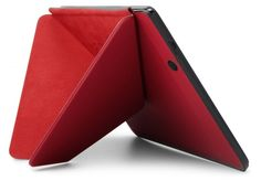 The origami case for the new 2013 Kindle Fire HDX tablet from Amazon is pure genius. So fiery hot, smart, cool, and practical at the same time. Perfection!