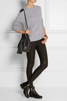 Wendy Nichol|Bullet studded leather bucket bag|NET-A-PORTER.COM