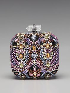 holy moly good.    Betty Embroidered Box Clutch by Marchesa Handbags on Gilt