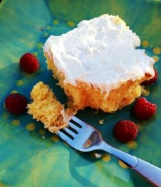 7-Up Cake: Made with 7-Up and four other ingredients, this is the moistest, lightest cake you will ever eat!
