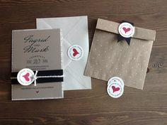 """Einladung Hochzeit """"Newspaper"""" von Ligia Pauls - Design auf DaWanda.com 4th Of July, Etsy, Gifts, Wedding, Design, Paper Mill, Invites Wedding, Cordial, Projects"""