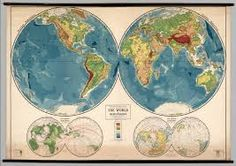 world physical map - Google Search