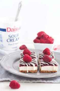 Do It Yourself Raspberry CheeseCake Bars
