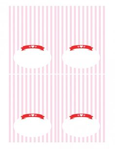 free valentines day party printables tented cards