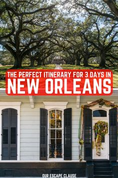 Looking for the perfect 3 days in New Orleans itinerary? Planning a long weekend? This is your ultimate guide: find out what to do, what to eat, where to stay, and more! #neworleans #nola #bigeasy #louisiana #south #southern #usa #travel #explore