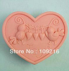 Aliexpress.com : Buy Free shipping!!!1pcs Love Birds (ZX638) Silicone Handmade Soap Mold Crafts DIY Mold from Reliable Silicone Soap Mold suppliers on Silicone DIY Mold and  Home Supplies Store $15.28